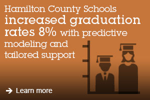 Hamilton Country Schools increased graduation rates 8% with prefictive modeling and tailored support. Learn more