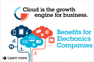 Cloud is the growth engine for business. Benefits for Electronics Companies. Learn more.
