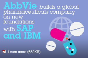 AbbVies builds a global pharmaceuticals company on new foundation with SAP and IBM