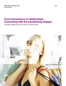 From transactions to relationships:Connecting with the transitioning shopper