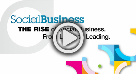 SocialBusiness THE RISE of Social Business.From Liking to Leading.