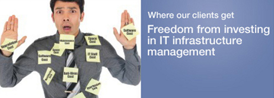 Where our clients get Freedom from investing in IT infrastructure management