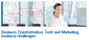 Business Transformation: Tech and Marketing, business challenges