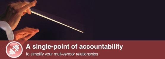 A single-point of accountability to simplify your multi-vendor relationships