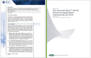 IDC and Forrester cover images