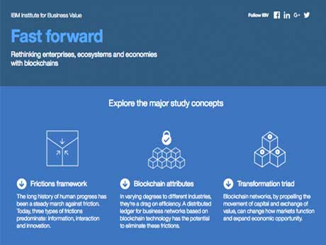 Fast forward: Rethinking enterprises, ecosystems and economies with blockchains