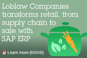 Loblaw Companies transforms retail, from supply chain to sale with SAP ERP. Learn more.