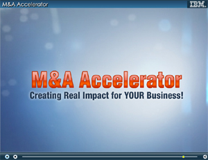 M&A Accelerator. Creating Real Impact for YOUR Business.