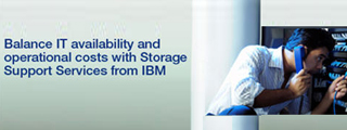 Balance IT availability and operational costs with Storage Support Services from IBM