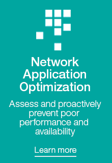 Assess and optimize application delivery on your network