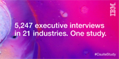 5,247 executive interviews in 21 industries.One study.