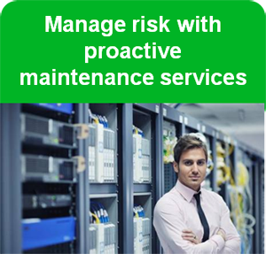Manage risk with proactive maintenance services