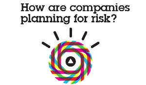 How are companies planning for risk.