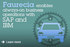 Faurecia enables always-on business operations with SAP and IBM