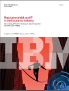 Reputational risk and IT in the insurance industry