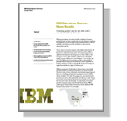 IBM Services Centre: Nova Scotia - Generating greater value for our clients with a new domestic delivery alternative (PDF, 182KB).