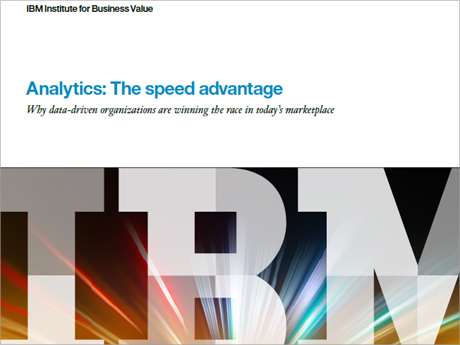 Analytics: The speed advantage