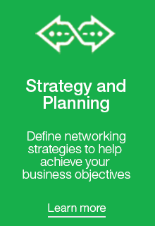 Define networking strategies to help achieve your business objectives