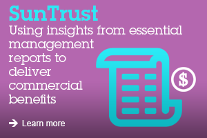 SunTrust Using insights from essential management reports to deliver commercial benefits learn more