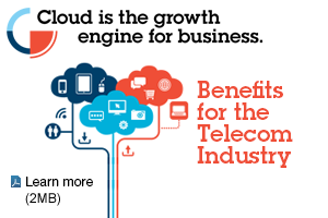 Cloud is the growth engine for business. Benefits for the Telecom Industry. Learn more (2MB)