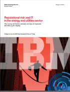 Reputational risk and IT in the energy and utilities sector