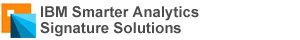 IBM Smarter Analytics Signature Solutions