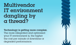 Multivendor IT environment danging by a thread? Technology is getting more complex.