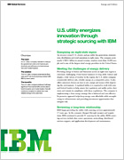 Utility energises innovation through strategic sourcing with IBM