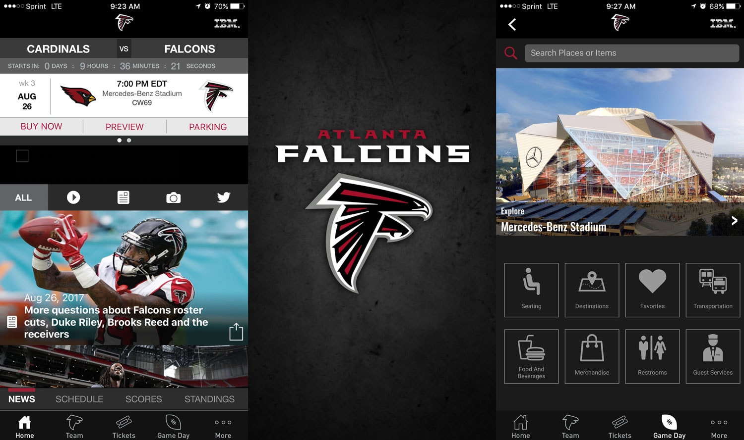 Atlanta Falcons Case Study | IBM iX