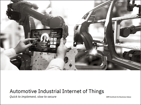 Automotive Industrial Internet of Things: Quick to implement, slow to secure