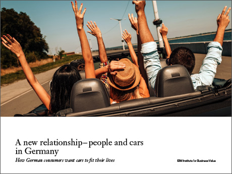 A new relationship – people and cars in Germany