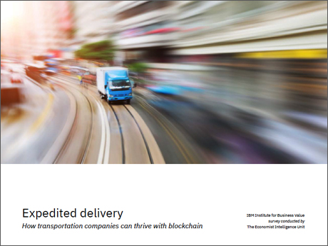 Expedited delivery: How transportation companies can thrive with blockchain