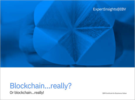 Blockchain…really? Or blockchain…really!