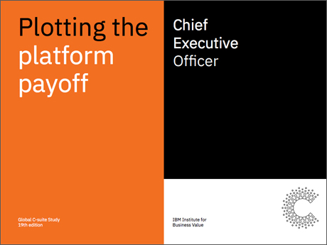 Plotting the platform payoff: The Chief Executive Officer perspective