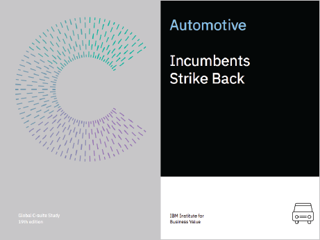 Automotive: Incumbents Strike Back
