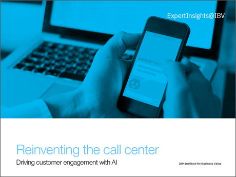 Reinventing the call center: Driving customer engagement with AI
