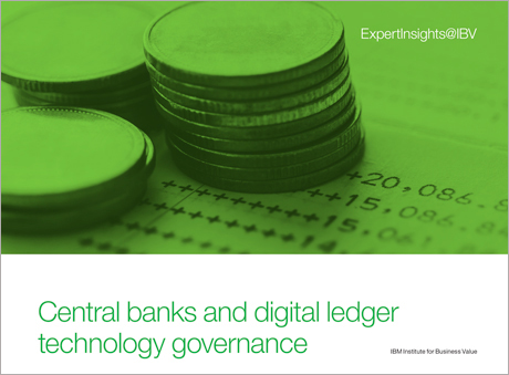 Central banks and digital ledger technology governance