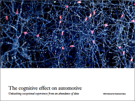 The cognitive effect on automotive: Unleashing exceptional experiences from an abundance of data