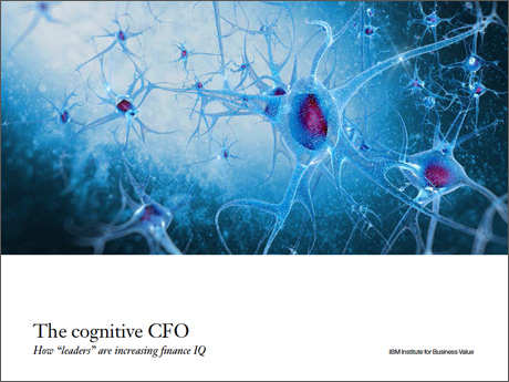 "The cognitive CFO: How ""leaders"" are increasing finance IQ"
