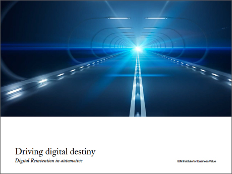 Driving digital destiny: Digital Reinvention in automotive