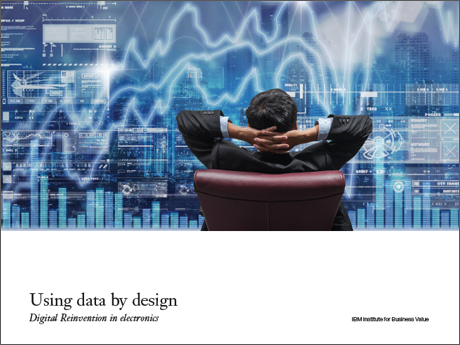 Using data by design: Digital Reinvention in electronics