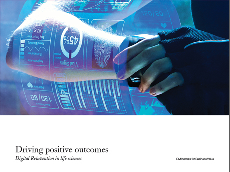 Driving positive outcomes: Digital Reinvention in life sciences