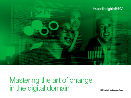 Mastering the art of change in the digital domain