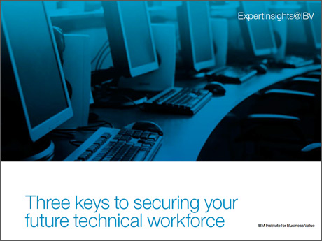 Three keys to securing your future technical workforce