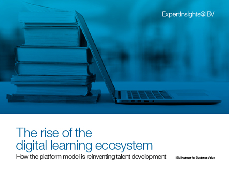 The rise of the digital learning ecosystem: How the platform model is reinventing talent development