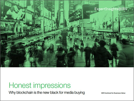 Honest impressions: Why blockchain is the new black for media buying