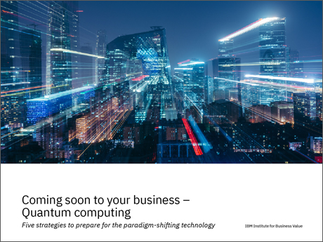 ibm.com - Quantum computing may change our world. Visionary organizations are aligning with the emerging quantum ecosystem to become 'quantum ready.'