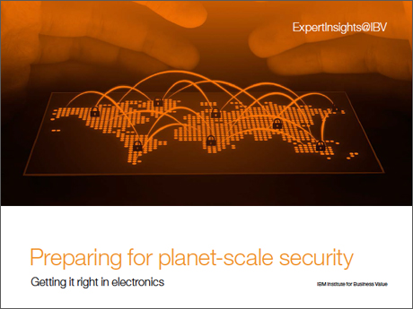 Preparing for planet-scale security: Getting it right in electronics
