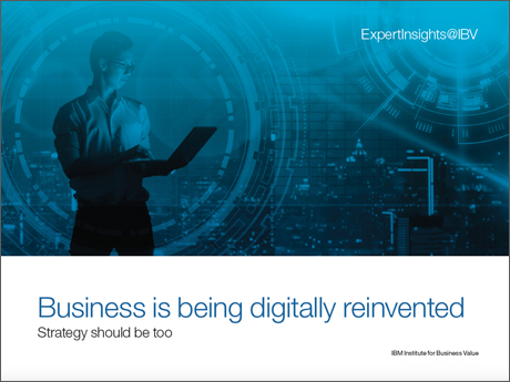 Business is being digitally reinvented: Strategy should be too