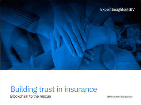 Building trust in Insurance: Blockchain to the rescue
